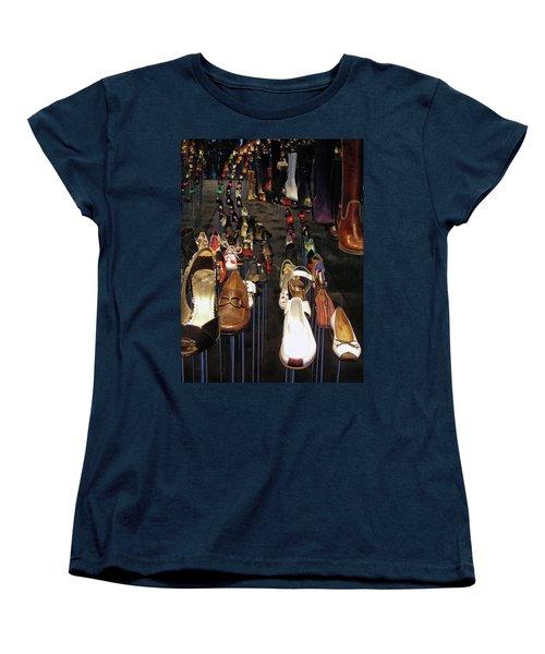 Put Your Shoes ... Women's T-Shirt (Standard Cut) by Juergen Weiss