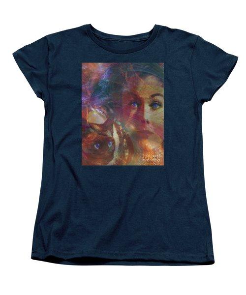 Pyewacket And Gillian Women's T-Shirt (Standard Cut) by John Robert Beck