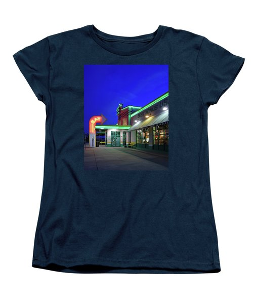 Women's T-Shirt (Standard Cut) featuring the photograph Quaker Steak And Lube by Christopher McKenzie