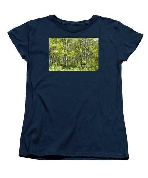 Quaking Aspens 2 Women's T-Shirt (Standard Cut) by Cynthia Powell