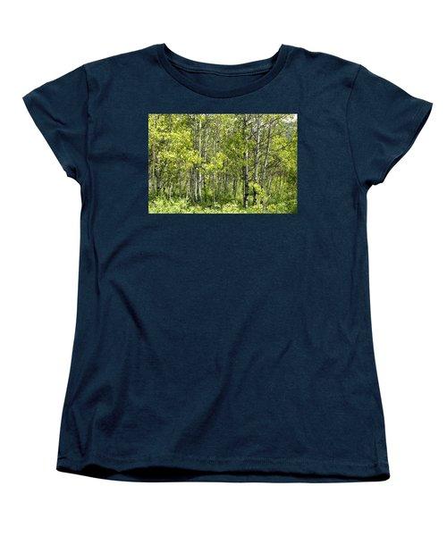 Quaking Aspens 2 Women's T-Shirt (Standard Cut)