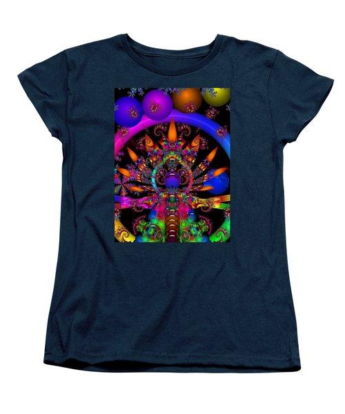 Women's T-Shirt (Standard Cut) featuring the digital art Quantum Physics by Robert Orinski