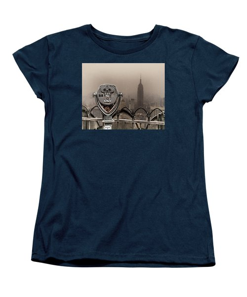 Women's T-Shirt (Standard Cut) featuring the photograph Quarters Only by Chris Lord
