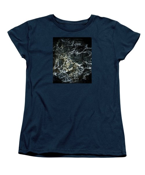 Quartz Veins Abstract 1 Women's T-Shirt (Standard Cut) by Richard Brookes
