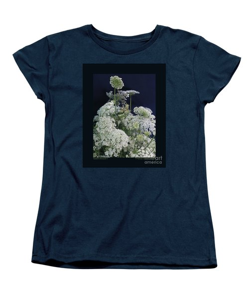 Women's T-Shirt (Standard Cut) featuring the photograph Queen's Bouquet-ii by Patricia Overmoyer
