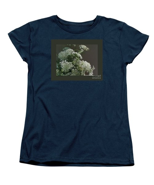 Women's T-Shirt (Standard Cut) featuring the photograph Queen's Bouquet by Patricia Overmoyer