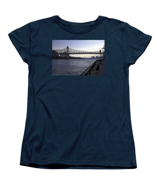 Queensboro Bridge - Manhattan Women's T-Shirt (Standard Cut) by Madeline Ellis