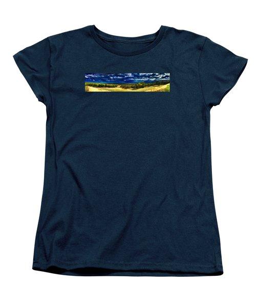 Quiet Before The Storm Women's T-Shirt (Standard Cut) by Douglas Barnard
