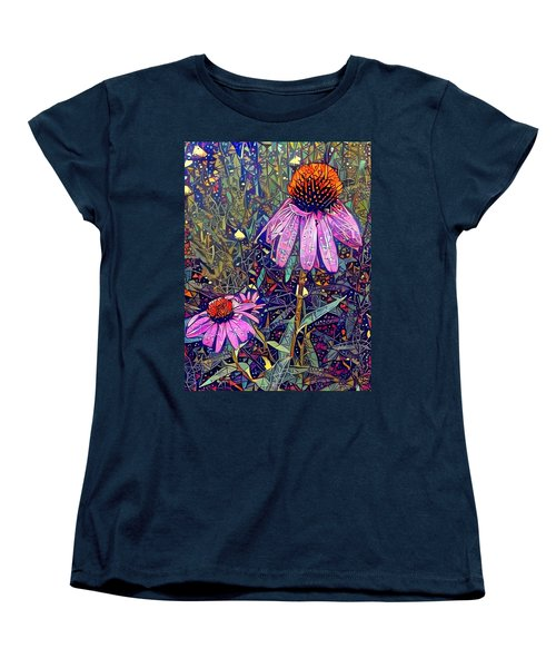 Women's T-Shirt (Standard Cut) featuring the photograph Quite Contrary  by Geri Glavis