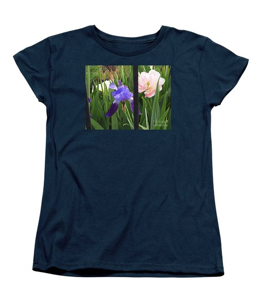 Women's T-Shirt (Standard Cut) featuring the photograph Quite The Pair by Nancy Kane Chapman