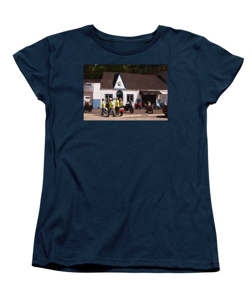Quitting Time Women's T-Shirt (Standard Cut) by David Blank
