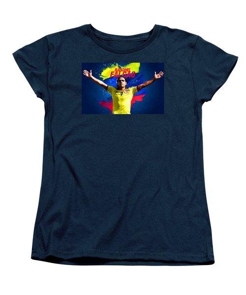 Radamel Falcao Women's T-Shirt (Standard Cut) by Semih Yurdabak
