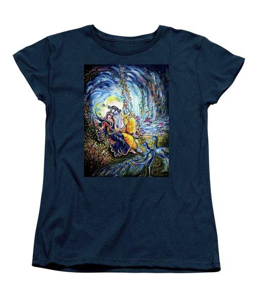 Radha Krishna Jhoola Leela Women's T-Shirt (Standard Cut)