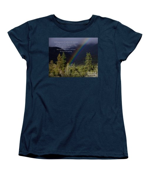 Women's T-Shirt (Standard Cut) featuring the photograph Radiance Of The Rainbow by Debby Pueschel
