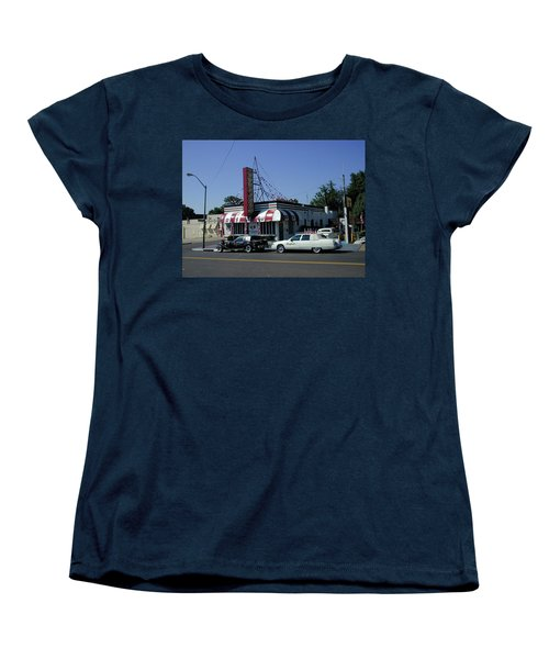 Women's T-Shirt (Standard Cut) featuring the photograph Raifords Disco Memphis A by Mark Czerniec