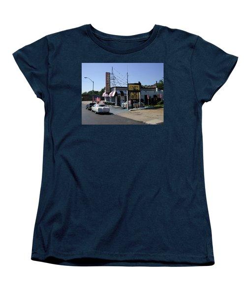 Women's T-Shirt (Standard Cut) featuring the photograph Raifords Disco Memphis B by Mark Czerniec
