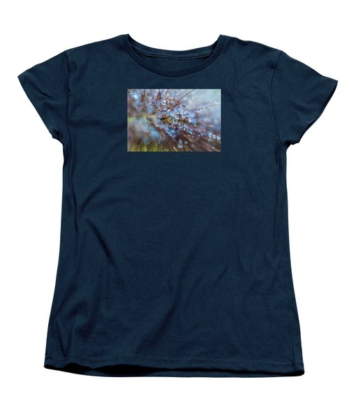 Rain Drops - 9751 Women's T-Shirt (Standard Cut) by G L Sarti