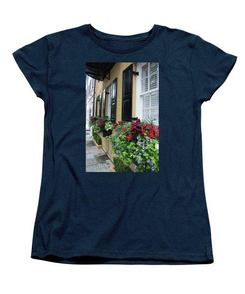 Rainbow Beauties Women's T-Shirt (Standard Cut) by Ed Waldrop