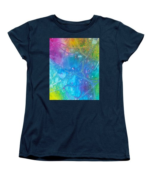 Rainbow Women's T-Shirt (Standard Cut) by Artists With Autism Inc