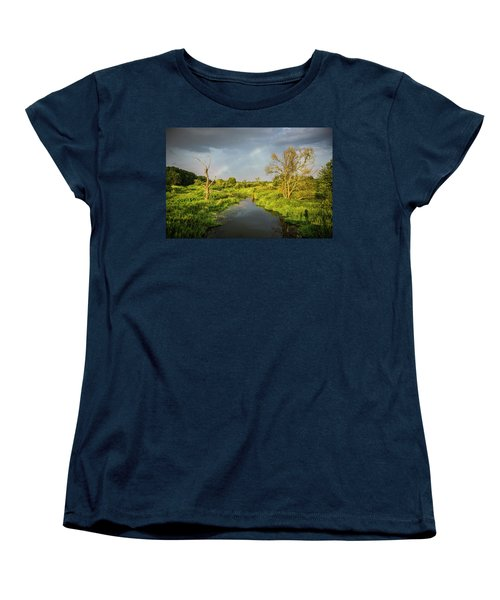 Rainbow Women's T-Shirt (Standard Cut) by Jaroslaw Grudzinski
