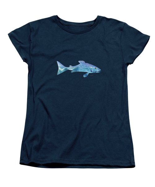 Rainbow Trout Women's T-Shirt (Standard Cut) by Mikael Jenei