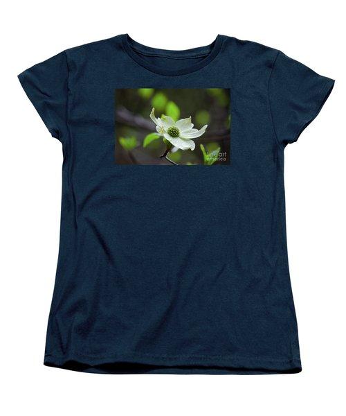 Raindrops Keep Falling Women's T-Shirt (Standard Cut) by Debby Pueschel
