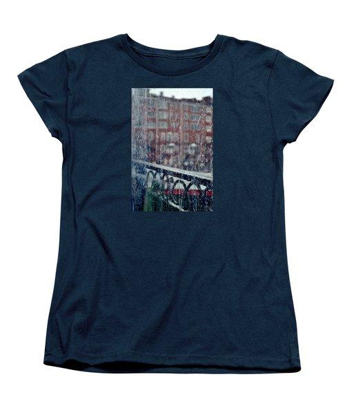 Rainy Day In Portsmouth Women's T-Shirt (Standard Cut) by Richard Ortolano