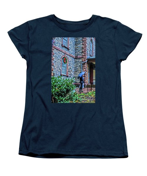 Women's T-Shirt (Standard Cut) featuring the photograph Rainy Sunday by Sandy Moulder