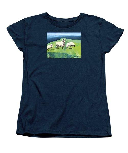 Ram On A Hill Women's T-Shirt (Standard Cut)