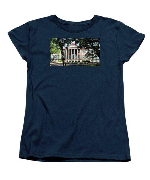 Randolph Hall Women's T-Shirt (Standard Cut) by Ed Waldrop