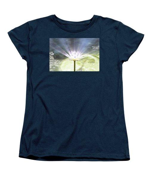Rays Of Hope Women's T-Shirt (Standard Cut) by Douglas Barnard