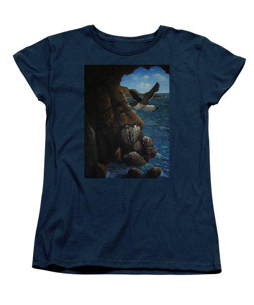 Razorbills Women's T-Shirt (Standard Cut) by Eric Petrie