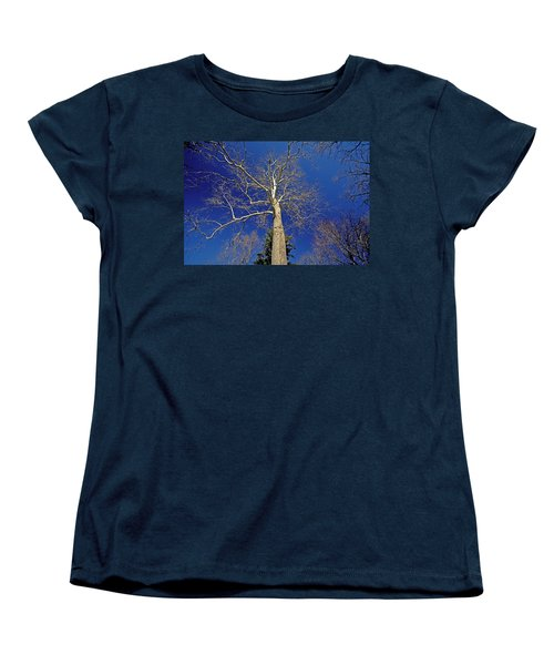 Women's T-Shirt (Standard Cut) featuring the photograph Reaching For The Sky by Suzanne Stout