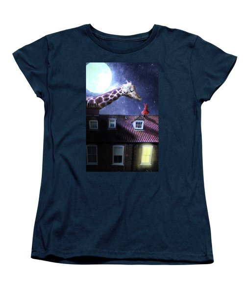 Reaching Out Women's T-Shirt (Standard Cut) by Nathan Wright