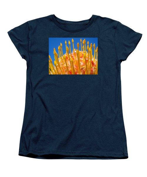 Reaching Up Women's T-Shirt (Standard Cut) by Trena Mara