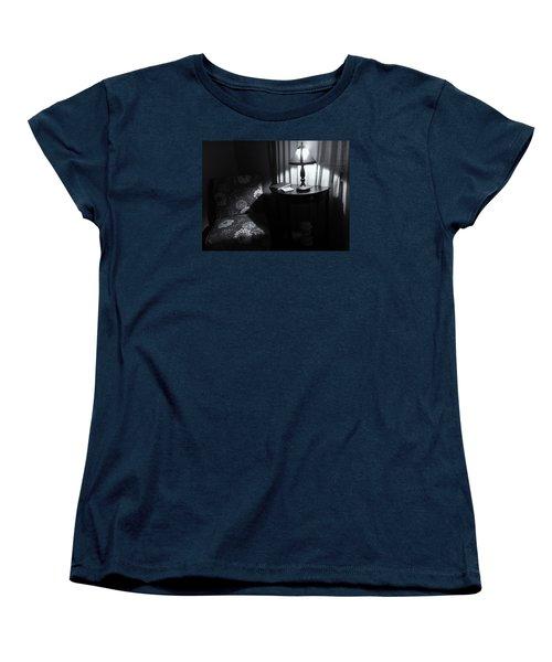 Reading Corner Women's T-Shirt (Standard Cut) by Bonnie Bruno