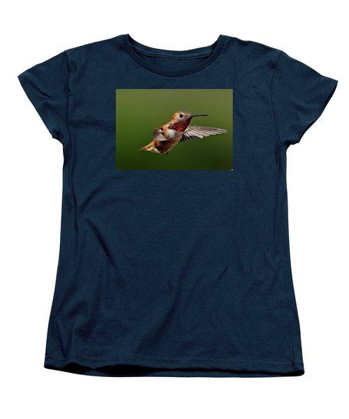Ready Women's T-Shirt (Standard Cut) by Sheldon Bilsker