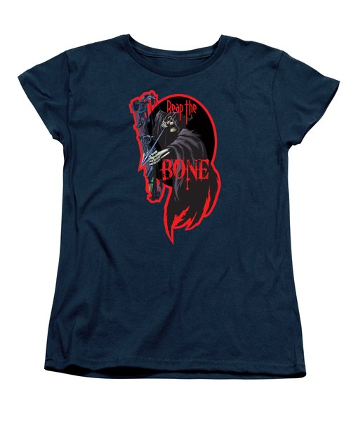 Reaper Archer Women's T-Shirt (Standard Cut) by Rob Corsetti