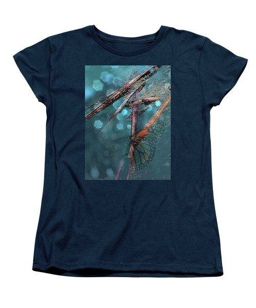 Rebirth Women's T-Shirt (Standard Cut) by Lauren Radke