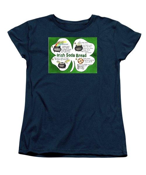 Recipe - Irish Soda Bread Women's T-Shirt (Standard Cut)