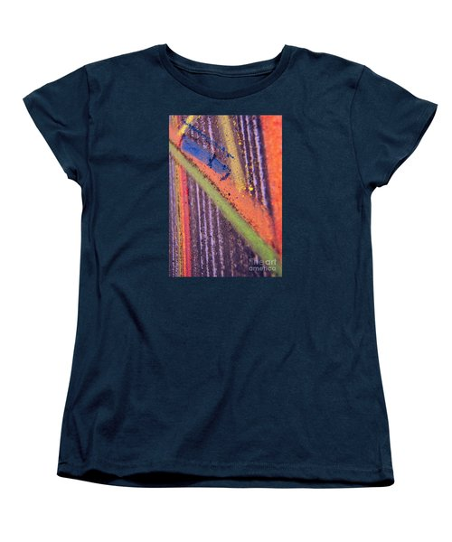 Women's T-Shirt (Standard Cut) featuring the pastel Record  Lp by Kristine Nora