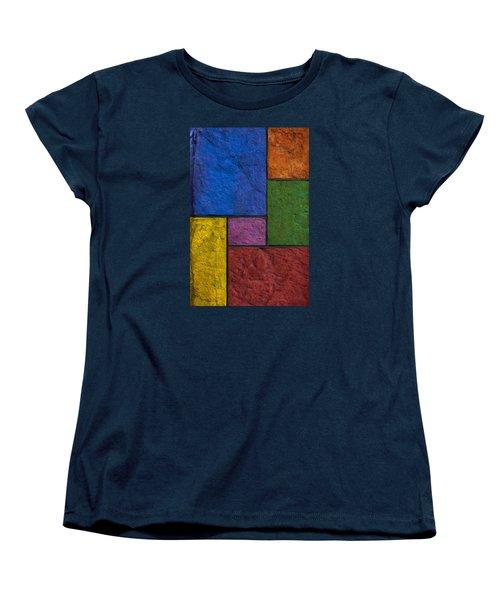 Rectangles Women's T-Shirt (Standard Cut) by Don Gradner