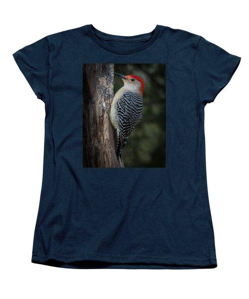 Red-bellied Woodpecker Women's T-Shirt (Standard Cut) by Kenneth Cole