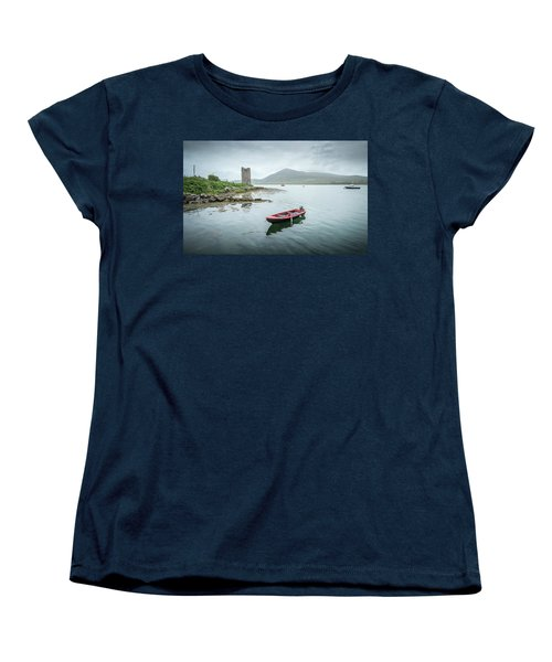 Red Boat Women's T-Shirt (Standard Cut) by Marty Garland