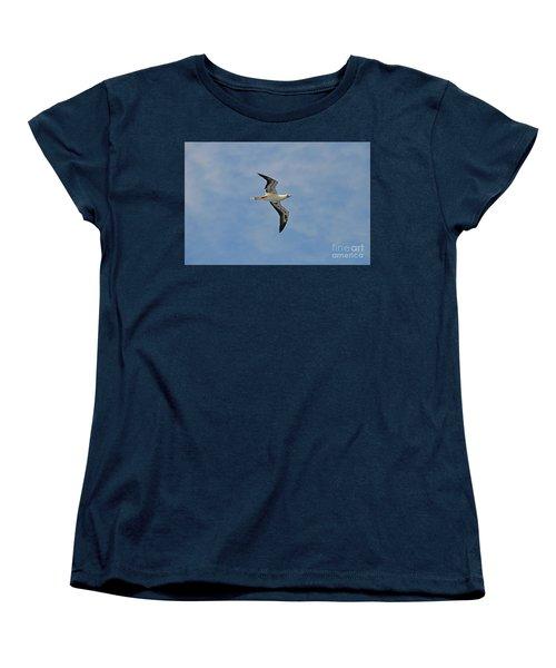 Red Footed Booby Bird 4 Women's T-Shirt (Standard Cut) by Eva Kaufman