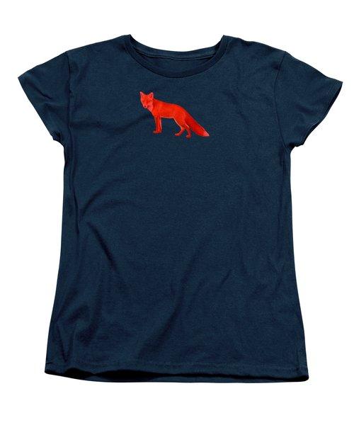 Red Fox Forest Women's T-Shirt (Standard Cut)
