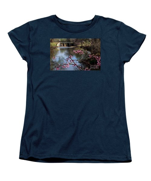 Redbuds And An Old Bridge Women's T-Shirt (Standard Cut)
