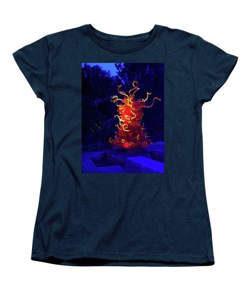 Redyellowbluenight Women's T-Shirt (Standard Cut)