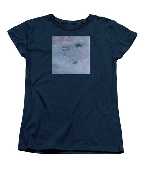 Women's T-Shirt (Standard Cut) featuring the painting Self-examination by Min Zou