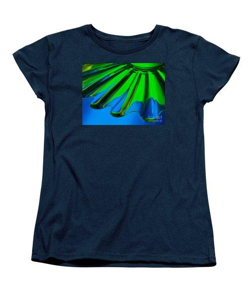 Women's T-Shirt (Standard Cut) featuring the photograph Reflected by Trena Mara